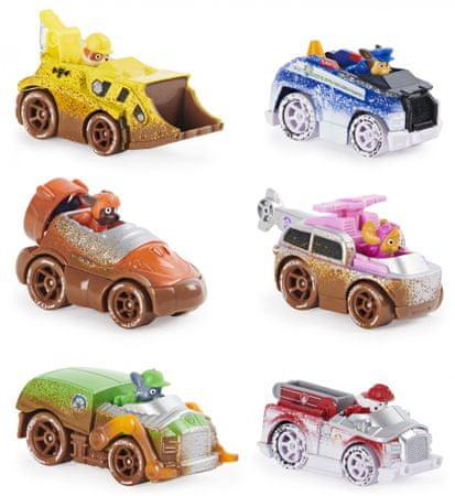 Spin Master zestaw upominkowy Psi Patrol samochody terenowe 6 szt.