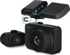 TrueCam M7 GPS Dual automobilska kamera (s radarskim izvještajem)