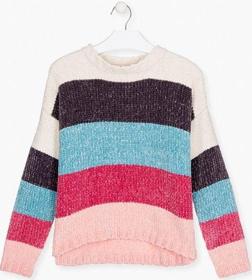 Losan dívčí svetr 128, vícebarevná