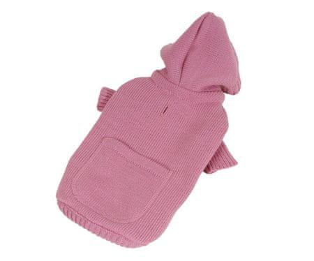 Kraftika Pulóver zseb-rózsaszín xxs, jumperek, ruhák kis fajtákhoz