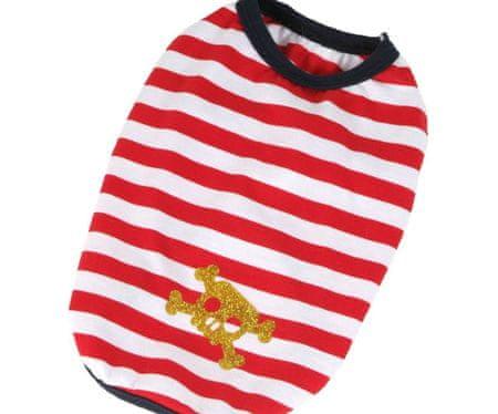 Kraftika Koszulka pirat - czerwony xxl, koszulki