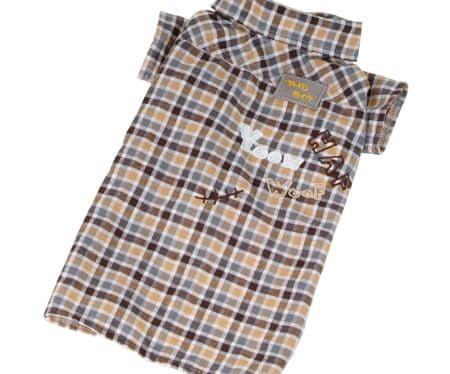 Kraftika Ing divatos-barna m, ingek, ruhák kis fajtákhoz