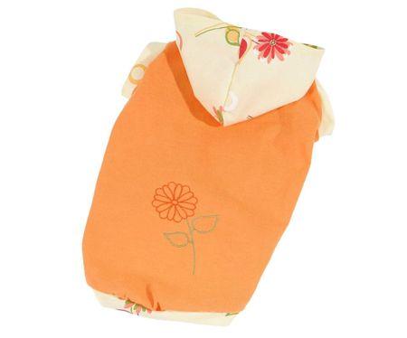 Kraftika Póló bloom (stock clearance) - narancssárga l, pólók