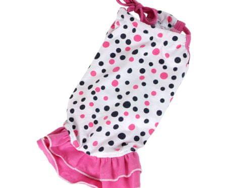 Kraftika Sukienka terry - różowy xxl, sukienki