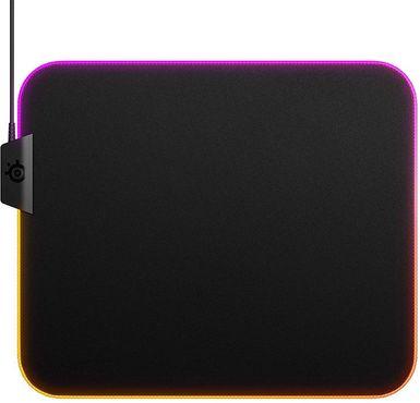 SteelSeries QcK Prism Cloth, Medium RGB LED velká snímání pohybu myši příjemný textil
