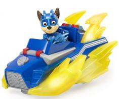 Spin Master zestaw Psi Patrol Świecący pojazd bohatera z dźwiękami - Chase