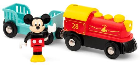 Brio WORLD 32265 Mickey egér elemekre működő kisvonatja