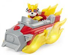 Spin Master zestaw Psi Patrol Świecący pojazd bohatera z dźwiękami - Marshall