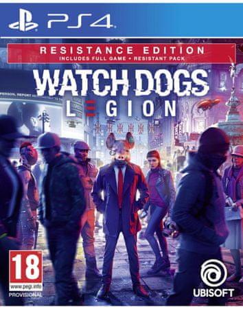 Ubisoft Watch Dogs: Legion - Resistance Edition Day1 igra (PS4)
