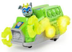 Spin Master Tačke na patrulji Žareče junaško vozilo z zvoki - Rocky