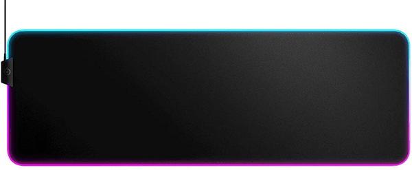 SteelSeries QcK Prism Cloth, XL (63826) velká snímání pohybu myši příjemný textil rgb led