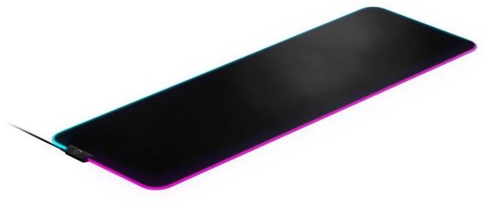 SteelSeries QcK Prism Cloth, XL (63826) RGB LED osvětlení stylové