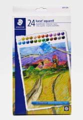 Staedtler Design Journey akvarel voštane boje, 24/1
