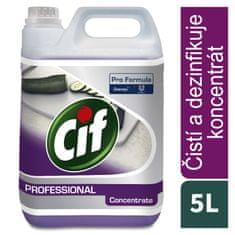 Cif Professional 2v1 - čistič na koupelny - koncentrát 5l