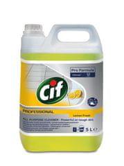 Cif Professional Univerzální čistící prostředek Citron 5l