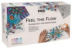 """KREUL Sada barev na sklo pro dospělé - antistresové ,,Feel the flow"""", Hobby Line"""