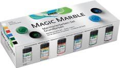 """KREUL Sada Mramorovací barva """"Magic Marble"""" základní 6 x 20 ml, Hobby Line"""