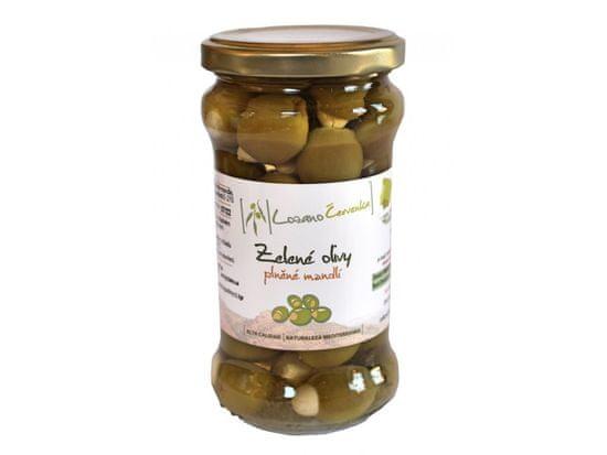 Lozano Červenka Zelené olivy s mandľou 490g