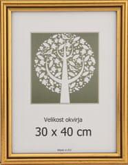 Karako Foto okvir 30x40 cm, plastika, stenski, 56 zlat