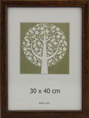 Karako Foto okvir 30x40 cm, plastika, stenski, 10-A rjav
