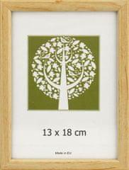 Karako Foto okvir 13x18 cm, plastika, namizni, stenski, 10-A natur