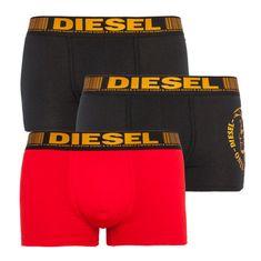 Diesel 3PACK pánske boxerky viacfarebné (00ST3V-0IAZE-E5119)