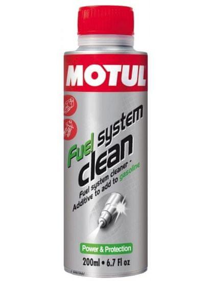 Motul MOTUL FUEL SYSTEM CLEAN cistic vstrekovania benzin 200 ml 104877