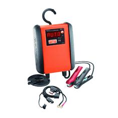 Bahco NABÍJAČKA Plne automatické mikroprocesorom riadené nabíjanie a udržiavacie nabíjanie batérie 6 A BBCE12-6
