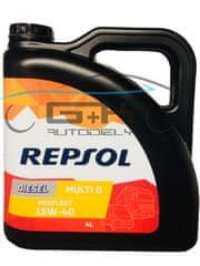 Repsol REPSOL 15W40 MIXFLEET 4L DIESEL MULTI G RP040Y54