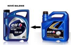 Elf OLEJ ELF 5W40 EVOLUTION 900 NF 4L 194873