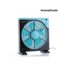 InnovaGoods Box ventilator, 50 W, črno-moder