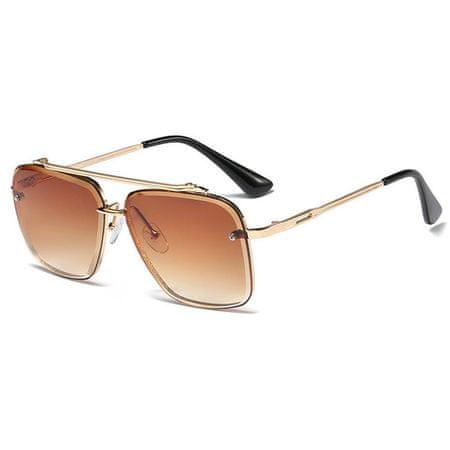 NEOGO Casper 1 napszemüveg, Gold / Brown Gradient