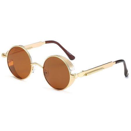 NEOGO Densling 3 sončna očala, Gold / Brown