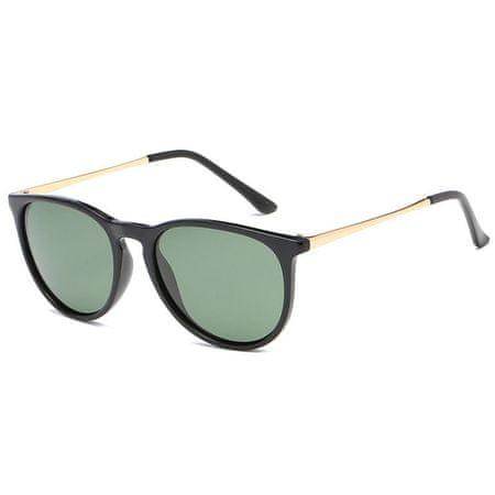 NEOGO Bellly 2 sončna očala, Black Gold / Green