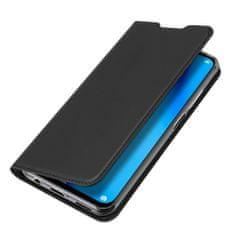 Dux Ducis Skin Pro knížkové kožené pouzdro na Huawei P40 Lite, černé