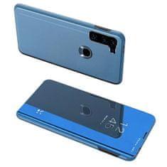 MG Clear View knížkové pouzdro na Motorola Moto G8 Power, modré