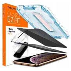 Spigen Alm Glass.Tr Privacy zaščitno steklo za iPhone 11 Pro / XS / X