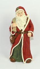 DUE ESSE Karácsonyi dekoráció Santa, 26 cm magas