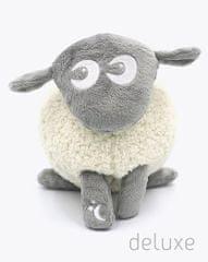 Ewan uspávací ovečka DELUXE 5 zvuků-šedá