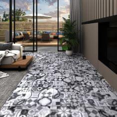 shumee Podlahová krytina 4,46 m² 3 mm šedý vzor
