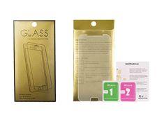 "GoldGlass OCHRANNÉ TVRZENÉ SKLO GOLD Edition 9H IPHONE 6 PLUS (5,5"") 42659 + DÁREK Noosy 3 x Adaptér na Sim karty 25481."