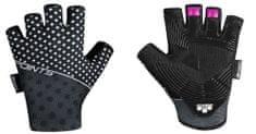 Force Cyklistické rukavice POINTS LADY bez zapínání - černo-šedé
