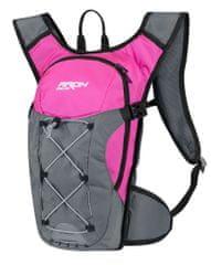 Force Cyklistický batoh ARON ACE - objem 10 litrů - růžový