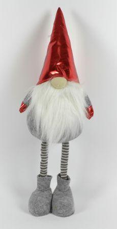 DUE ESSE dekoracja Elf bożonarodzeniowy z teleskopowymi nóżkami 45 - 65 cm