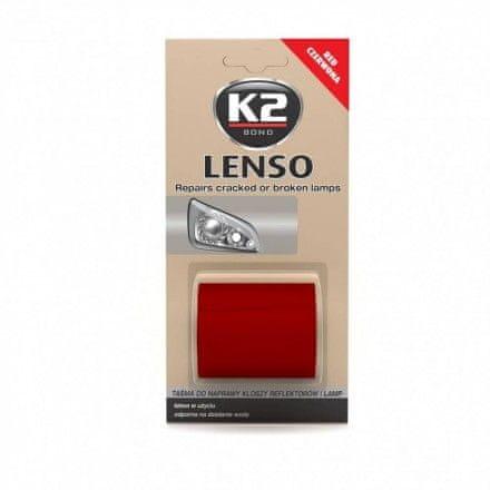 K2 trak za popravilo žarometov Lenso, rdeč