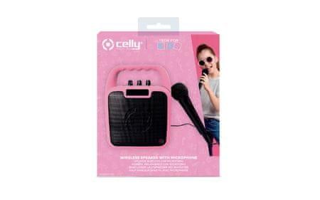 Unikatoy karaoke zvočnik + nalepke, roza šk. 75261