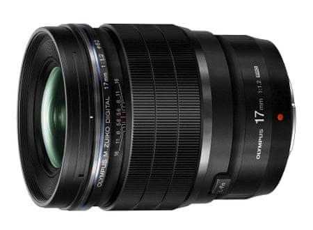 Olympus objektiv, 17 mm M.Zuiko Digital ED f/1,2 PRO