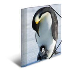 Herma mapa Pingvini, A4, PP, sijoča