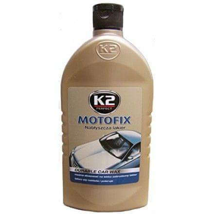 K2 poliuretanska lepilna/tesnilna masa Motofix, 500 ml