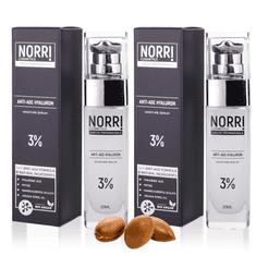 NORRI  2x Anti-age hyaluron 3% 2x30 ml